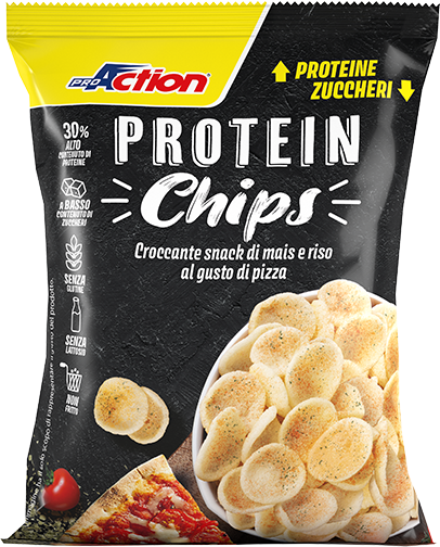 Protein Chips Pizza